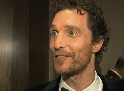 News video: High Praises For Matthew McConaughey!